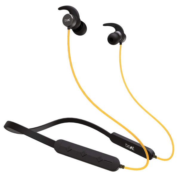 boAt Rockerz 255 Sports Bluetooth Wireless Earphone Stereo Sound and Hands Free Mic (Colour May Vary)